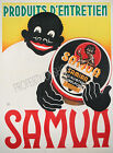 Vintage Samua French print poster, large 4 sizes available