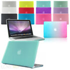 "Rubberized See-Through Hard Case Cover for Macbook Pro with DVD/CD Drive 13"" 15"""