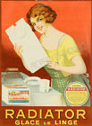 Vintage rare Radiator French ad print poster, large 4 sizes available