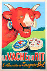 Vintage French cheese ad print poster, large 4 sizes available