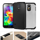 fOR Samsung Galaxy S5 i9600 Shock proof Rugged Rubber Impact Hard Hybrid Case UK