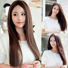 Fashion Sexy Black/Brown Long Hair Straight Full Wigs Cosplay Party/Daily Wear