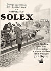 Vintage Solex Automotive racing  print poster, large 4 sizes available