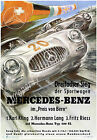 Vintage Mercedes-Benz Automotive print poster, large 4 sizes available