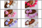 Wholesale 10x Chiffon Flowers Trims DIY Embellishments Craft for Headband