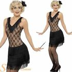 Ladies 1920s Flapper All That Jazz Charleston Fancy Dress Costume Outfit