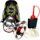 Fyrefli Meteor Fire Diabolo +Carbon Diabolo Sticks  +  FNG Bag