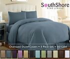 Vilano Springs Solid Color 3-Piece Duvet Cover Set by Southshore Fine Linens image