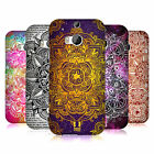 HEAD CASE DESIGNS MANDALA DOODLES CASE COVER FOR HTC ONE M8