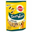 Pedigree Tasty Minis Chewy Cubes Crunchy Pocket Dog Treats Cheese Chicken Beef
