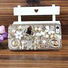 New Fashion Cover Skins Rhinestone Series Protective Hard Case For iPhone 4 4S