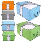 Portable Non-woven Fabric Clothing Blanket Quilt Storage Organizer Box Bag S/L