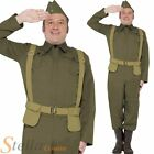Mens Home Guard Private Dads Army War Fancy Dress Costume WW2 30s 40s Soldier