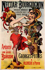 Vintage Wine ad print poster, large 4 sizes available