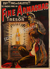 Vintage Fine Armangnac ad print poster, large 4 sizes available