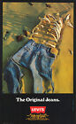 Vintage Levis ad print poster, large 4 sizes available