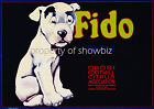 Vintage Fido Art ad print poster, large 4 sizes available