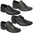 mens formal shoes italian style slip on velcro lace up dress wedding office work
