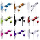 iEAR EARPHONES HEADSET HEADPHONE HANDS FREE EARPIECE MiC fOr iPad 2 Wi-Fi + 3G