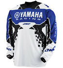 NEW 2014 ONE INDUSTRIES ATOM YAMAHA MX DIRT BIKE OFFROAD JERSEY BLUE ALL SIZES
