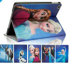 Disney Frozen Princess Stand PU Leather Case Cover for All iPad Mini Air Retina
