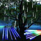 20/30/50cm Meteor Shower Rain Tube Snowfall 80/144/160LED Light Decoration Xmas