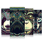 HEAD CASE DESIGNS AZTEC ANIMAL FACES SERIES 3 CASE COVER FOR SONY XPERIA M2