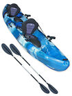 Tandem Sit On Top Fishing Kayak Double Canoe - Concept Escape Angler