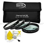 Close Up Macro +1 +2 +3 +10 Lens Filter Kit For Canon Nikon Sony Olympus Pentax
