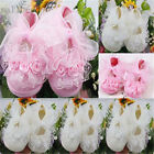Style Non-Slip Newborn Shoes Baby Toddler Shoes With Beautiful Lace 2 Colors