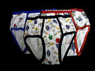 Boys  Cartoon Briefs  100%Cotton  3 Boys Briefs Underwears