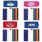 CHILDRENS PERSONALISED PENCILS & PENCIL CASE SET Back to School / Christmas Gift