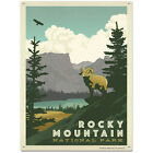 Rocky Mountain Park Colorado Metal Sign