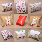 6pcs PILLOW PACK GIFT FAVOUR BOX WEDDING PARTY JEWELLERY CHRISTMAS ANNIVERSARY