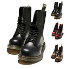 Mens Outdoor sports Shoe Martin Ankle boots Lace Up Leather Hike Military Boots