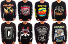 Music Rock Band Heavy Metal Deathcore T-Shirt Long Sleeve Black Cotton All Size