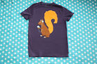 Mini Boden boys Tshirt squirrel design 1.5yrs ,2, 3,4,5,6,7,8,9,10,11,12yrs