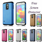 HYBRID MESH COMBO TOUGH ARMOR GEL CASE COVER SKIN FOR SAMSUNG GALAXY S5 SM-G900