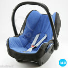 Replacement spare Seat Cover fits Maxi-Cosi CabrioFix 0+ Infant Carrier SET blue