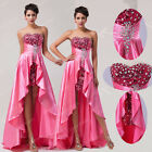 Watermelon Strapless Design Sequin Sexy Gowns Party Prom Evening Ball Long Dress