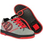 NEW Heelys Propel Boys Roller Skating Shoe Trainer Grey/Red JNR 12 - UK7