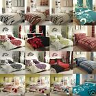 8 Piece Duvet Cover Set With Matching Curtains and FITTED Sheet  !  DOUBLE KING