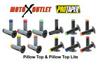 ProTaper Pillow Top MX Lite Grips Dirt Bike Neon Tri Dual Density Pro Taper