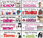 2 x 3ft Personalised Olly Murs One Direction JLS Justin Bieber Birthday Banner