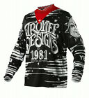 NEW 2015 TROY LEE DESIGNS GP OUIJA MX DIRT BIKE MOTOCROSS JERSEY BLACK ALL SIZES