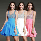 2016 Short Cocktail Bridesmaid Gowns Party Formal Prom Evening Homecoming Dress