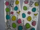cellophane party bags and ties 29 cms x 12.5 cms easter design