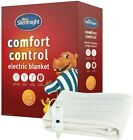 Silentnight Electric Blanket Heated Winter Warming Single Double King