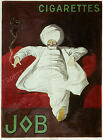 Vintage Job French Cigarettes print poster, large 4 sizes available