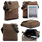 Vintage Men's Canvas Leather Shoulder Bag Messenger Crossbody Satchel Bags New